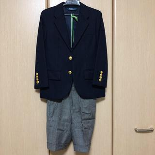 ポロラルフローレン(POLO RALPH LAUREN)の卒園 入学 ラルフローレン 120cm ブレザー パンツ 他セット(ドレス/フォーマル)