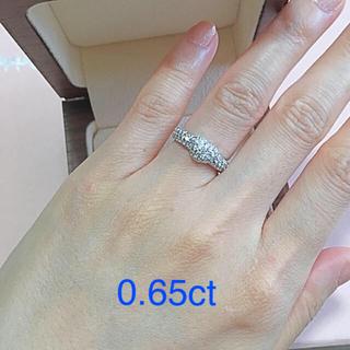 ポンテヴェキオ(PonteVecchio)の最終価格!ポンテヴェキオ  0.65ct パヴェダイヤモンドリング(リング(指輪))