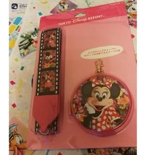 ディズニー(Disney)のイマジニングザマジック ミニー カメラストラップ(ネックストラップ)