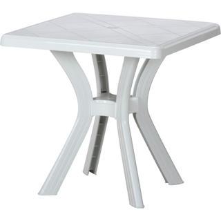 スクエアテーブル❁⃘*.゚アンジェロ〈ホワイト(アウトドアテーブル)