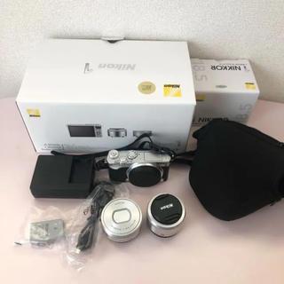 Nikon - Nikon1j5 ダブルレンズキット シルバー