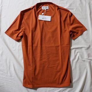 マルタンマルジェラ(Maison Martin Margiela)の新品 Maison Margiela 10 クラシックTシャツ 50 オレンジ(Tシャツ/カットソー(半袖/袖なし))