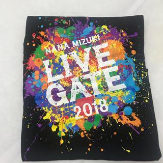 水樹奈々 ライブT LIVE GATE 2018 黒(Tシャツ)