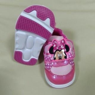 ディズニー(Disney)の新品!!ミッキー&ミニー 14 cmスニーカー(スニーカー)