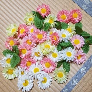 造花 ガーベラ(ミニサイズ) バラ (枝もお付けできます)(その他)