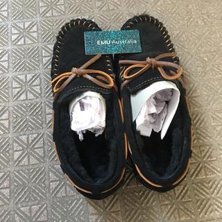 エミュー(EMU)の靴 モカシン スリポッン ローファー サンダル 美品 UGG トッズ(スリッポン/モカシン)