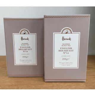 ハロッズ(Harrods)のハロッズ 紅茶 No.14 リーフ 200g × 2箱(茶)