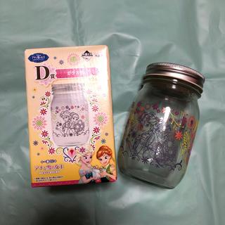 ディズニー(Disney)のアナと雪の女王 ガラス瓶(容器)