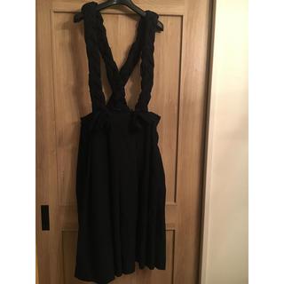 コムデギャルソン(COMME des GARCONS)のコムコム吊りスカート(ロングスカート)