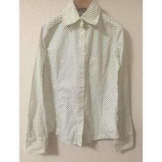 スワンキー(swanky)のI♡swanky ドットシャツ  (シャツ/ブラウス(長袖/七分))