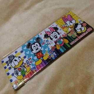ディズニー(Disney)のディズニー色鉛筆50色(色鉛筆 )
