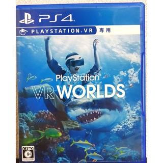 プレイステーションヴィーアール(PlayStation VR)のplaystationVR WORLDS psvrワールド(家庭用ゲームソフト)