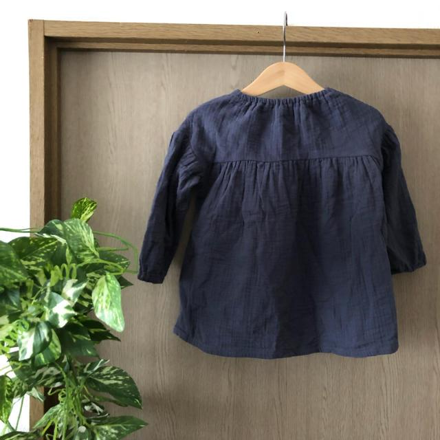 しまむら(シマムラ)のBIRTHDAY トップス 90 キッズ/ベビー/マタニティのキッズ服 女の子用(90cm~)(ブラウス)の商品写真