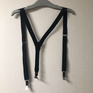 ヨウジヤマモト(Yohji Yamamoto)の髑髏 骸骨 yohji yamamoto サスペンダー(サスペンダー)