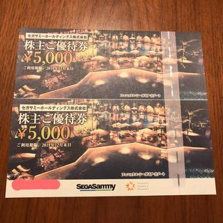 フェニックスシーガイアリゾート優待券1万円(遊園地/テーマパーク)