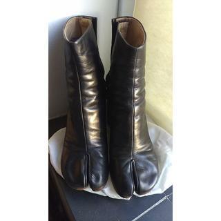 マルタンマルジェラ(Maison Martin Margiela)のマルジェラ 足袋ブーツ サイズ36(ブーツ)