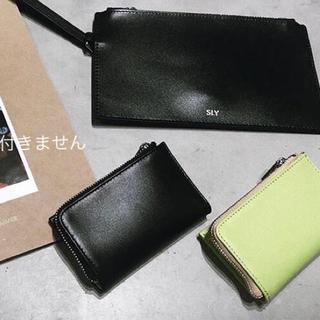 スライ(SLY)のSLYノベルティ♡リアルレザーマルチコインケース&ポーチ♡小銭入れカードケース(財布)