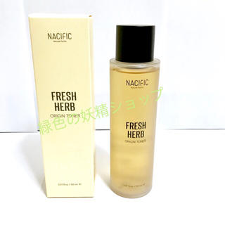 ナチュラルパシフィック(NATURAL PACIFIC)のナシフィック フレッシュハーブ オリジントナー 化粧水(化粧水 / ローション)