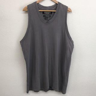 アディダス(adidas)のadidas アディダス yeezy season 1 タンクトップ グレー M(Tシャツ/カットソー(半袖/袖なし))