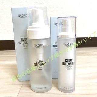 ナチュラルパシフィック(NATURAL PACIFIC)のナシフィック グローインテンシブ  バブル スキンケアセット (化粧水 / ローション)
