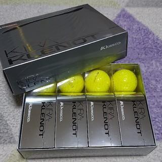 キャスコ(Kasco)のキャスコ キラ クレノ ゴルフボール イエローダイアモンド 1ダース(その他)