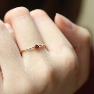 指輪✨リング ✨ルビーの指輪✨レディース(リング(指輪))