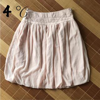 ヨンドシー(4℃)の4℃ バルーンスカート(ひざ丈スカート)