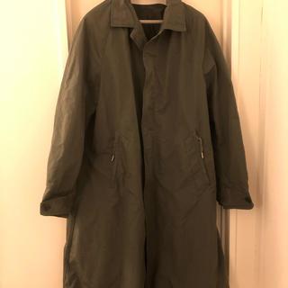 サイ(Scye)のscye basics 高密度タフタ バルマカーン コート 38 美品 専用です(ステンカラーコート)