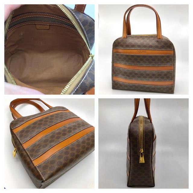 e92d160bd212 celine(セリーヌ)の美品 VINTAGE CELINE セリーヌ ロゴ ハンドバッグ レディースのバッグ(