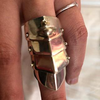 ヴィヴィアンウエストウッド(Vivienne Westwood)のぱに様用 VivienneWestwood アーマーリング Lサイズ(リング(指輪))