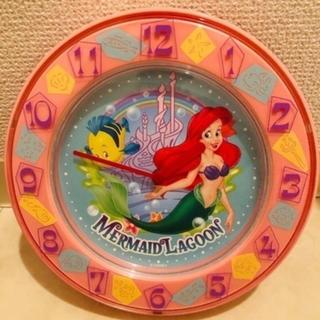 ディズニー(Disney)のアリエル 置き時計 掛け時計(掛時計/柱時計)