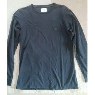 ヴィスヴィム(VISVIM)のvisvim(ビズビム) 羊革パッチ付きロングスリーブTシャツ 表示サイズ:S(Tシャツ/カットソー(七分/長袖))