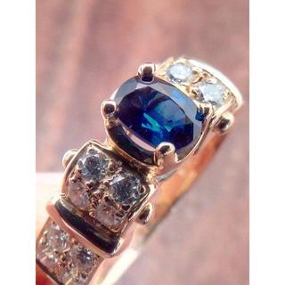 ポーラ(POLA)のPOLAです!このブルー!K18サファイアリング 15.5号(リング(指輪))