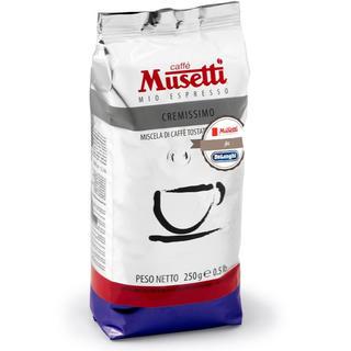 デロンギ(DeLonghi)のデロンギ ムセッティ クレミッシモ コーヒー豆1年分 250g×12袋(コーヒー)