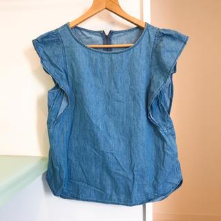ジーユー(GU)のジーユー♡デニムシャツ(シャツ/ブラウス(半袖/袖なし))