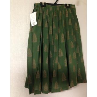 ミナペルホネン(mina perhonen)のsally scotto  サリースコットのフレアスカート(ひざ丈スカート)
