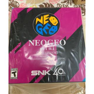 ネオジオ(NEOGEO)の新品 NEOGEO mini インターナショナル版(家庭用ゲーム本体)