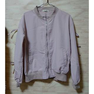 ナチュラルクチュール(natural couture)のナチュラルクチュール  ブルゾン 春 リボン袖(ブルゾン)