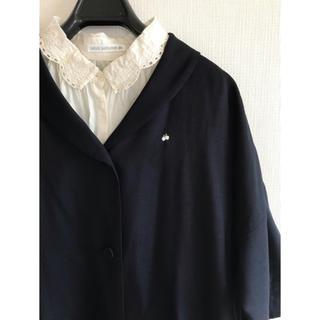 ミナペルホネン(mina perhonen)のミナペルホネン black羽織り36 manteau0 定価11万 薄手コート(スプリングコート)