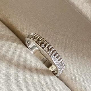 ブシュロン(BOUCHERON)のお磨き済 ブシュロン キャトル ラディアント ダイヤモンドリング WG T52(リング(指輪))