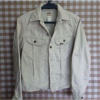 リー(Lee)のLee ホワイトデニムジャケット 0411 90s 漂白ムラ Mサイズ【送料込】(Gジャン/デニムジャケット)