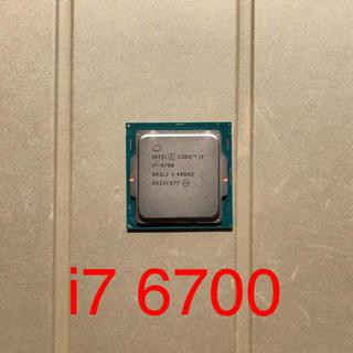 インテレクション(INTELECTION)のIntel core i7 6700(PCパーツ)