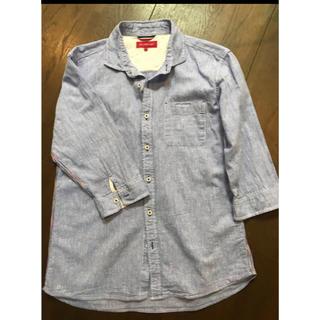 アベイル(Avail)のメンズカジュアルシャツ   ブルー(Tシャツ/カットソー(七分/長袖))