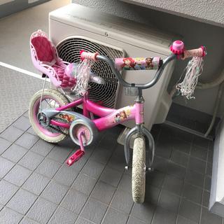 ディズニー(Disney)のディズニープリンセス 自転車  13インチ(自転車)
