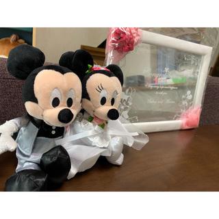 ディズニー(Disney)の新品 ミッキー ミニー ウェルカムドール ウェルカムボード(ウェルカムボード)