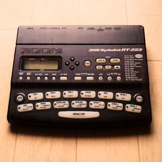 ズーム(Zoom)のZOOM RT-223 ズーム ドラムマシン リズムマシン(エフェクター)