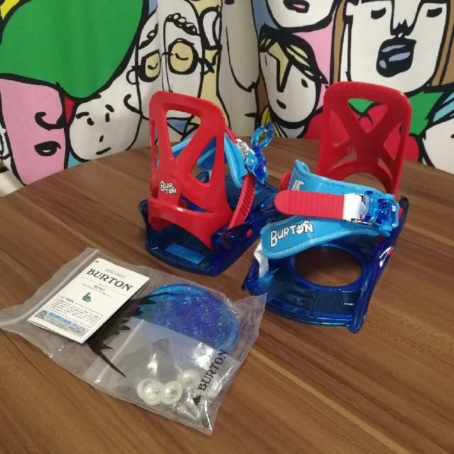 BURTON(バートン)のBURTON バートン Grom グロム バインディング キッズ 子供 ジュニア スポーツ/アウトドアのスノーボード(バインディング)の商品写真