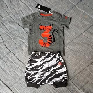 アディダス(adidas)のadidas ベビー、キッズ Tシャツ パンツ 上下セット トラ タイガー(Tシャツ)