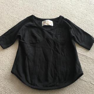 ドリット(DRitte)のdritte boutique黒トップス(カットソー(長袖/七分))