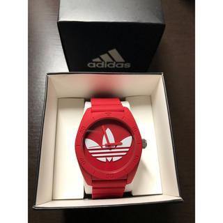 アディダス(adidas)のadidas original 時計 赤(腕時計(アナログ))